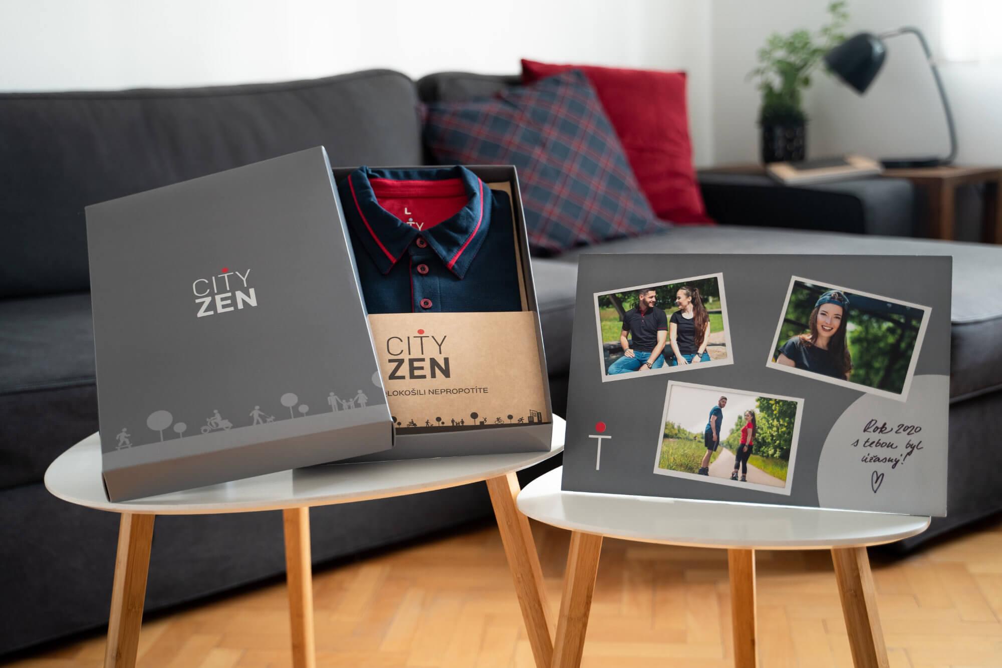 Luxusní dárková krabice s fotorámečkem