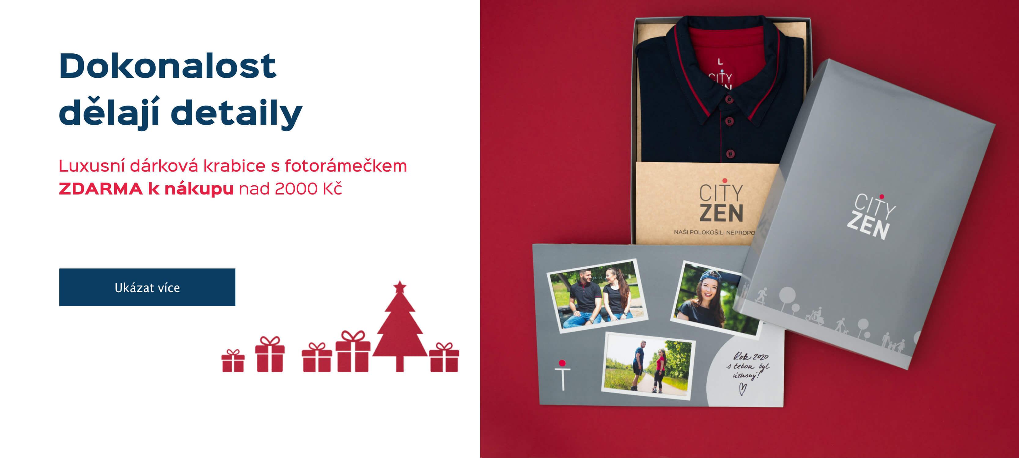 Luxusní dárková krabice CityZen s fotorámečkem