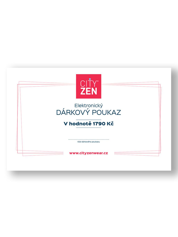 Elektronický dárkový poukaz na polo CityZen