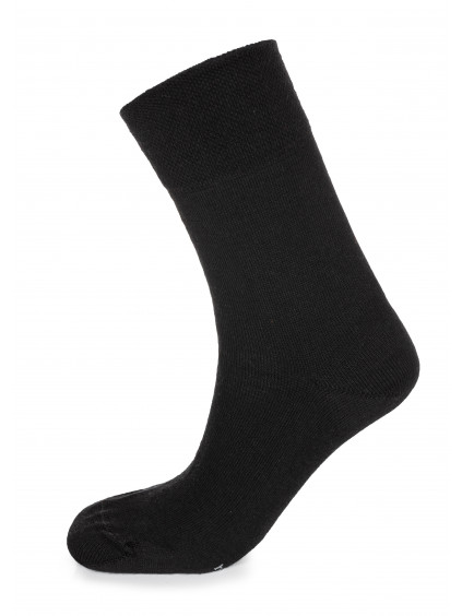 ponozky cerne merino 01