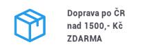 Doprava po ČR zdarma na 1.500 Kč
