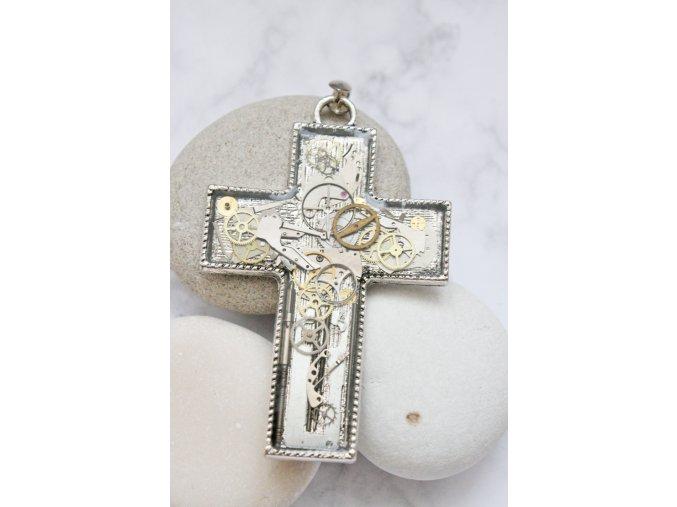 Kříž Odette (nerez řetízek)