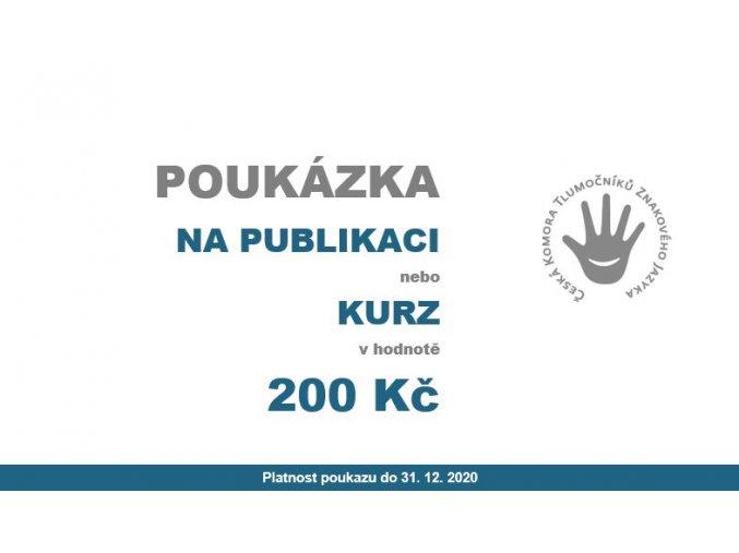 POUKÁZKA200