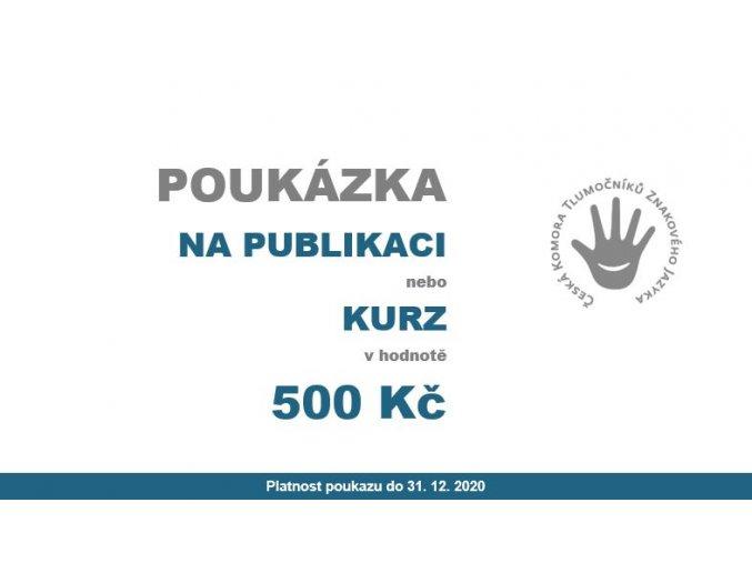 POUKÁZKA500