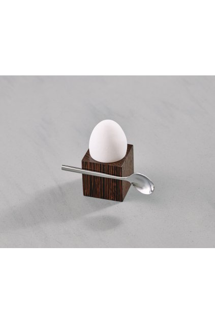 Cube Egg Stand Wenge
