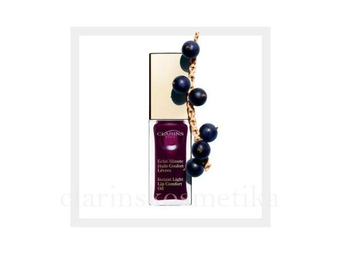 Instant Light Lip Comfort Oil 08 Blackberry