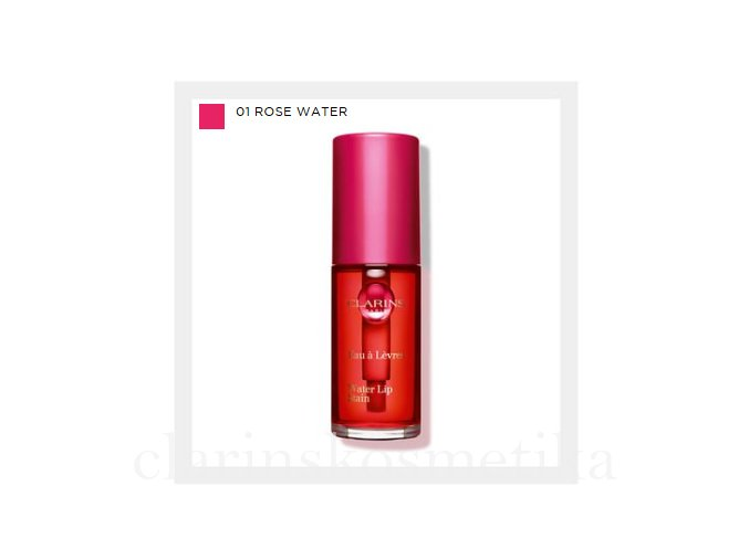 WATER LIP STAIN - 01 Rose water