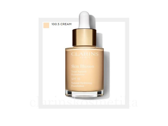 Skin Illusion SPF 15 -100.5 cream 30ml