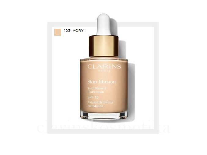 Skin Illusion SPF 15 - 103 ivory 30ml