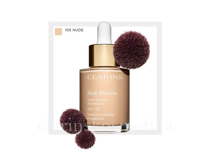 Skin Illusion SPF 15 - 105 nude 30ml