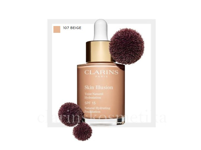Skin Illusion SPF 15 - 107 beige 30ml