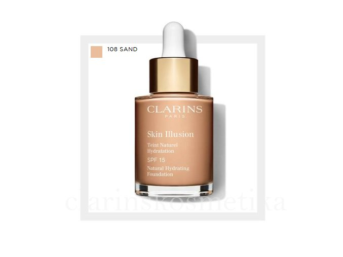 Skin Illusion SPF 15 - 108 sand 30ml