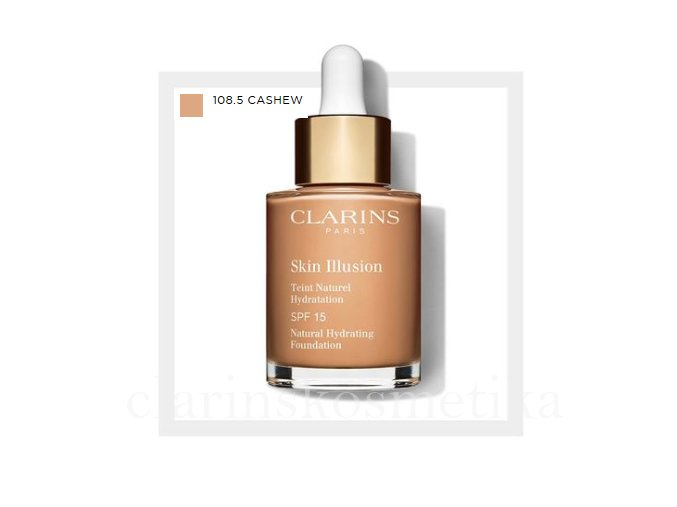 Skin Illusion SPF 15 - 108.5 cashew 30ml