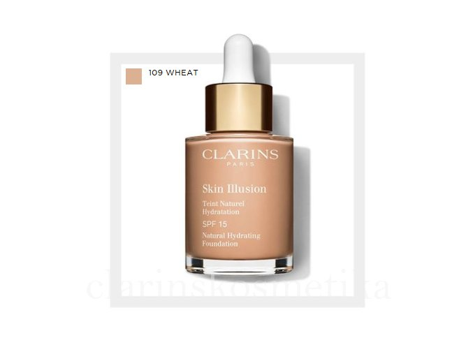 Skin Illusion SPF 15 - 109 wheat 30ml