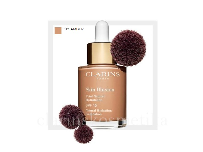 Skin Illusion SPF 15 - 112 amber 30ml