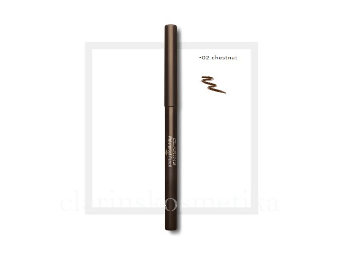 Waterproof Eye Pencil 02 Chestnut