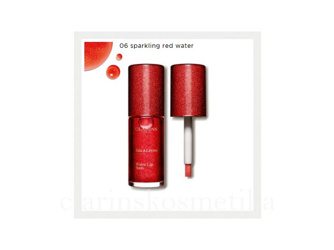 WATER LIP STAIN - 06 Sparkling Red water