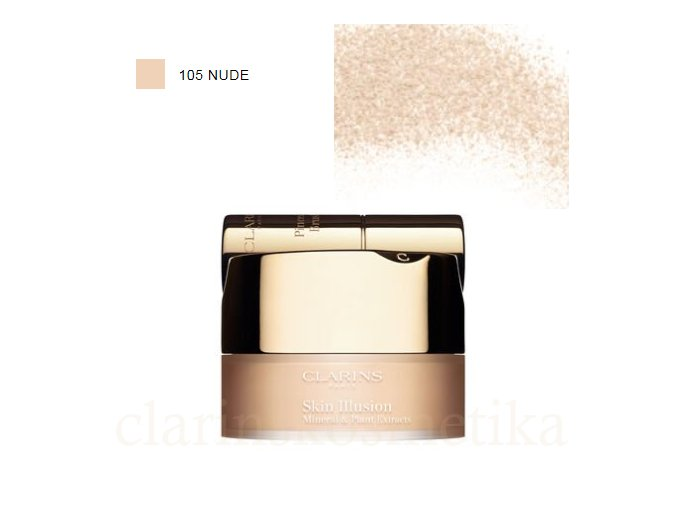 Skin Illusion Mineral & Plant Extracts Loose Powder Foundation 105 Nude