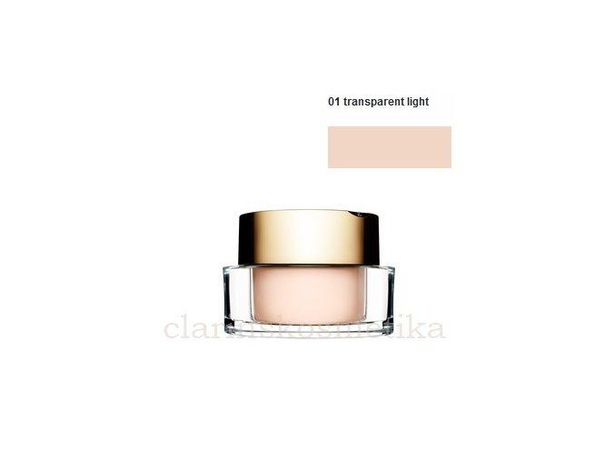 Mineral Loose Powder 01 transparent light