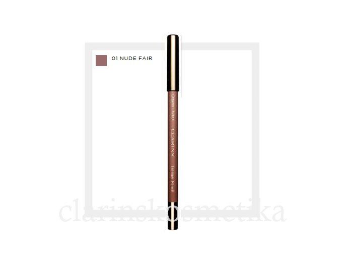Lip Pencil 01 Nude Fair