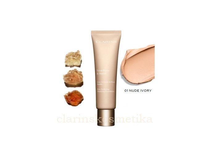 Pores Perfecting Foundation 01 Nude Ivory 30ml