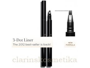 3-Dot Liner - Intense Black