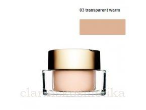 Mineral Loose Powder 03 transparent warm