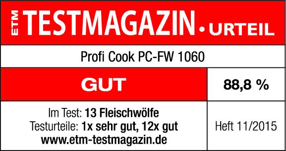 test-mlynek-na-maso-proficook-fw-1060