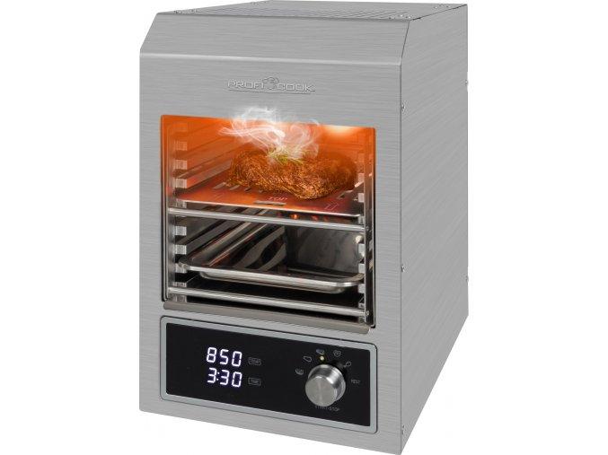 ProfiCook EBG 1201 gril na steaky