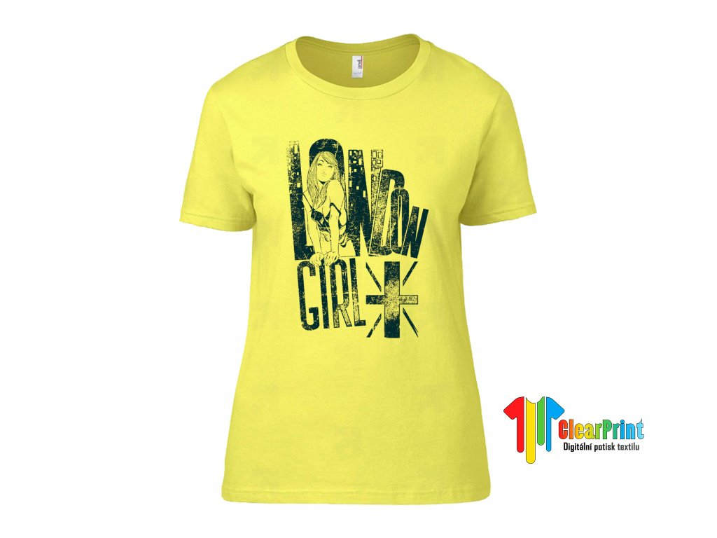 Tričko London Girl