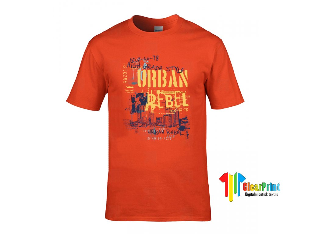 Urban Rebel Náhled orange