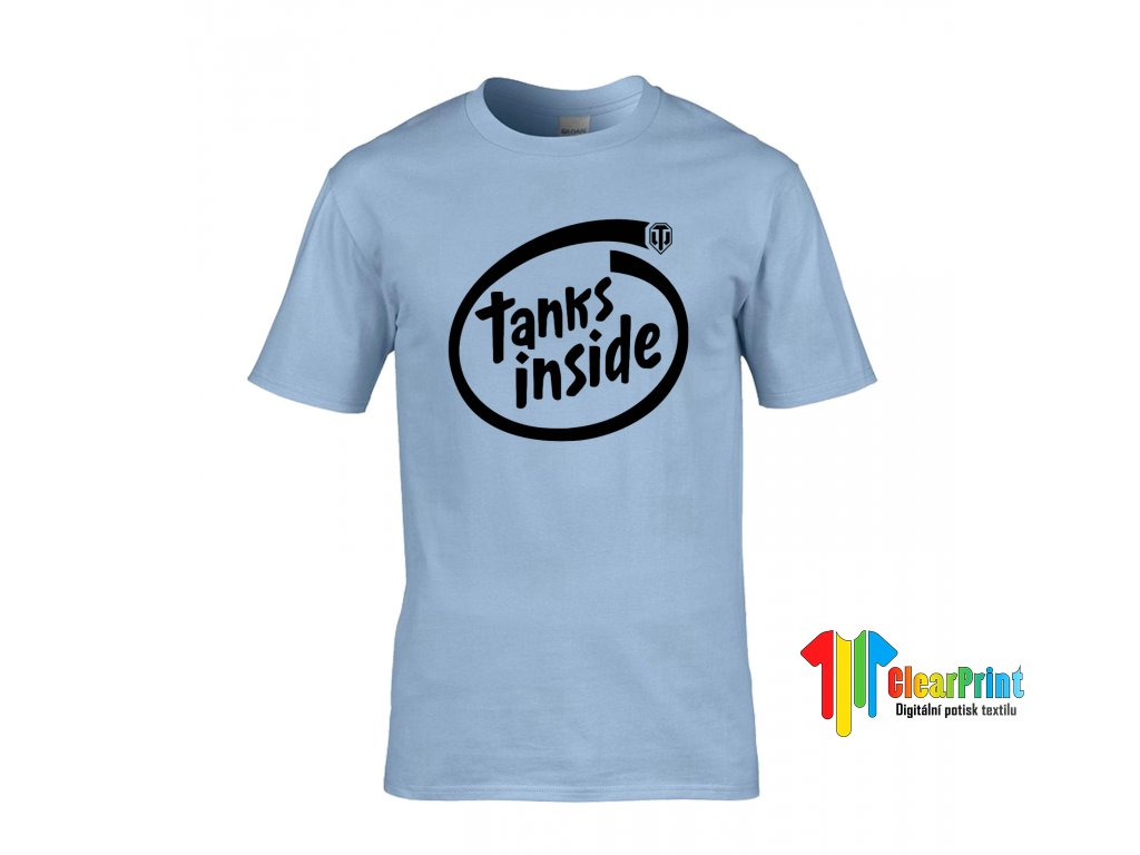 Tanks Inside Náhled light blue