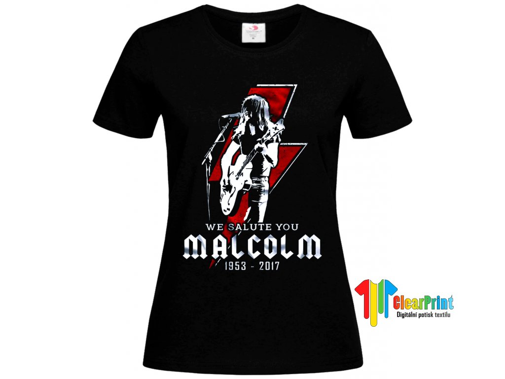 Malcolm Young Náhled black