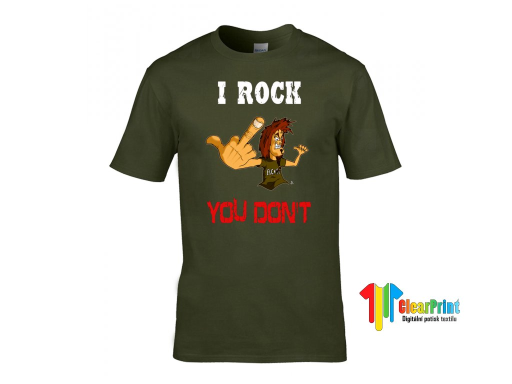 I Rock You Don't Náhled khaki