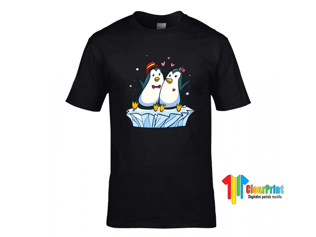 ... Zamilovaní tučňáci Náhled black ... d37e799f32