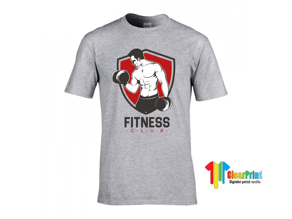 Fitness Club Náhled grey