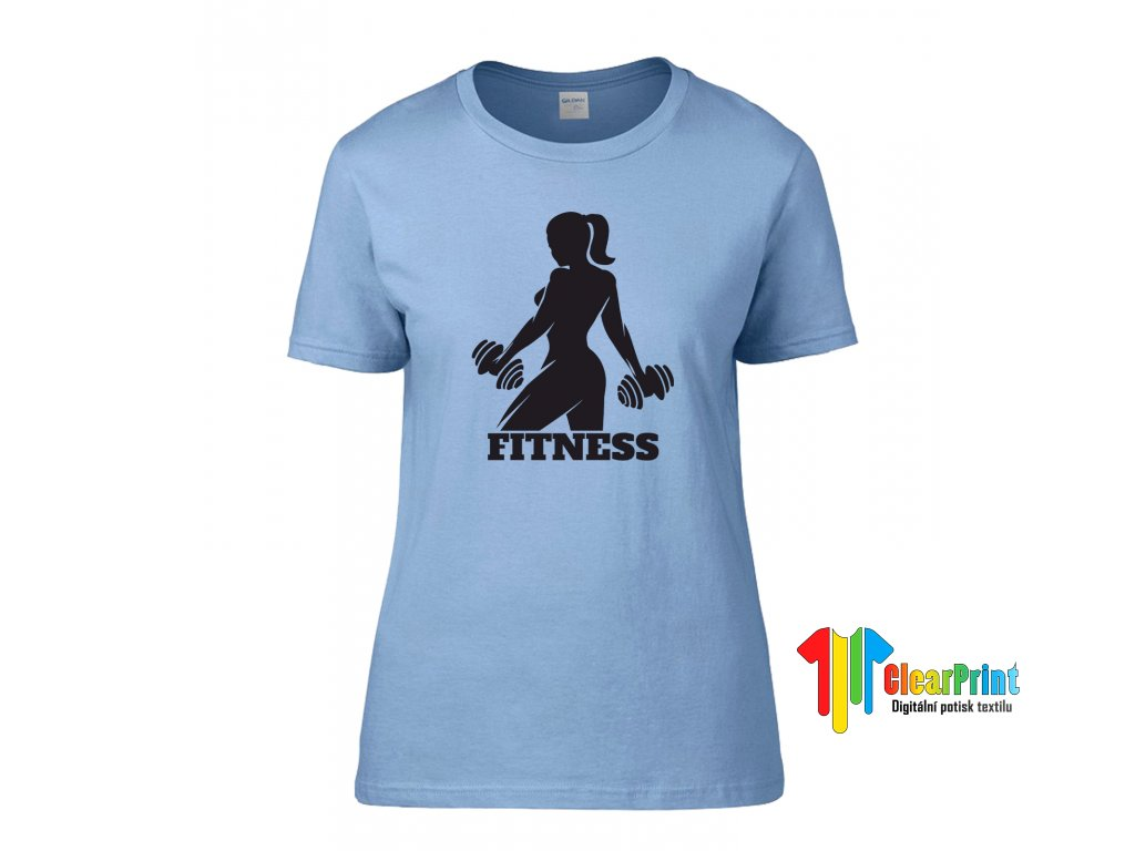 Fitness Náhled blue