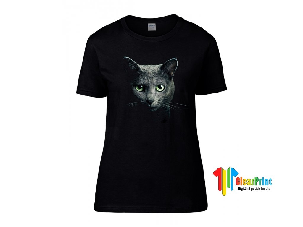 Grey Cat Náhled black d