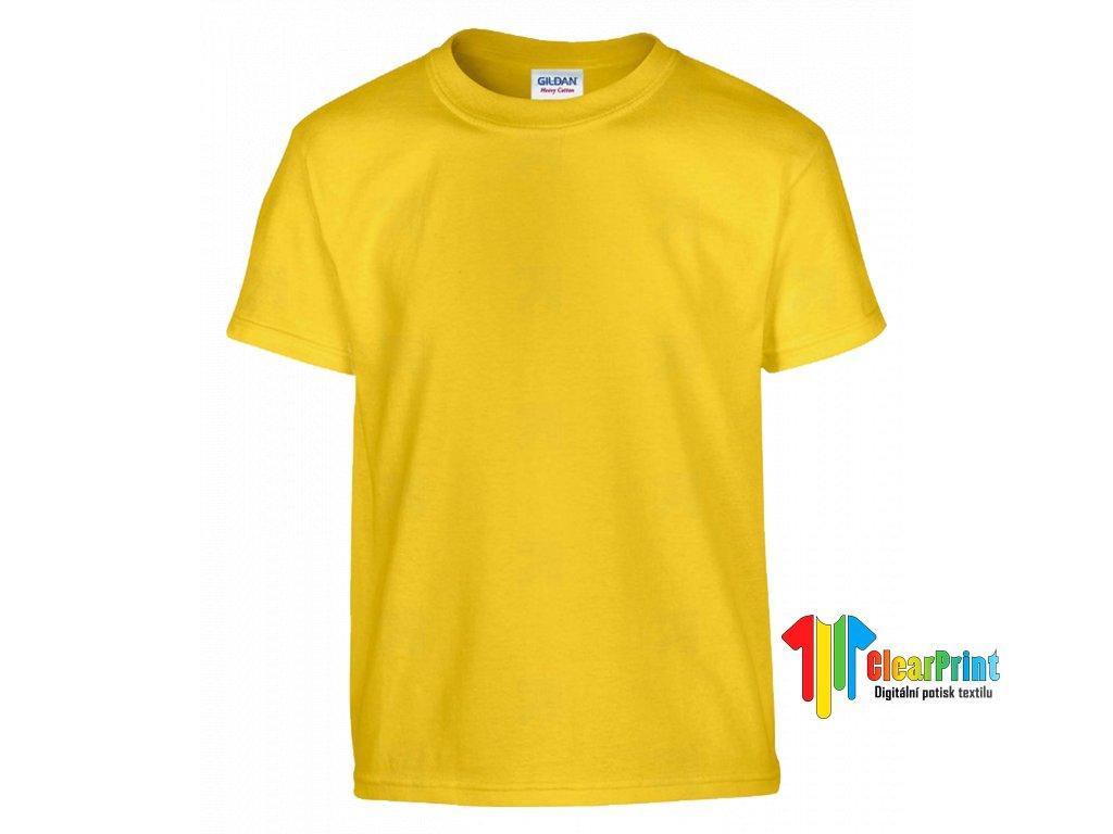 Žluté dětské