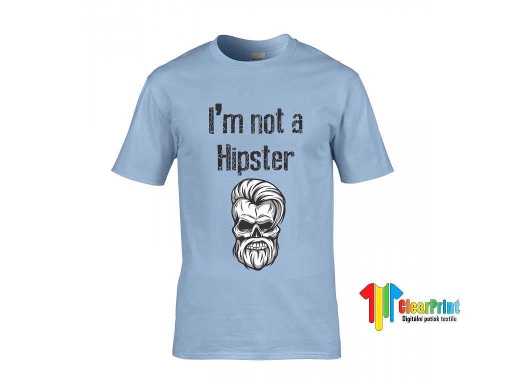 I'm Not a Hipster Náhled blue