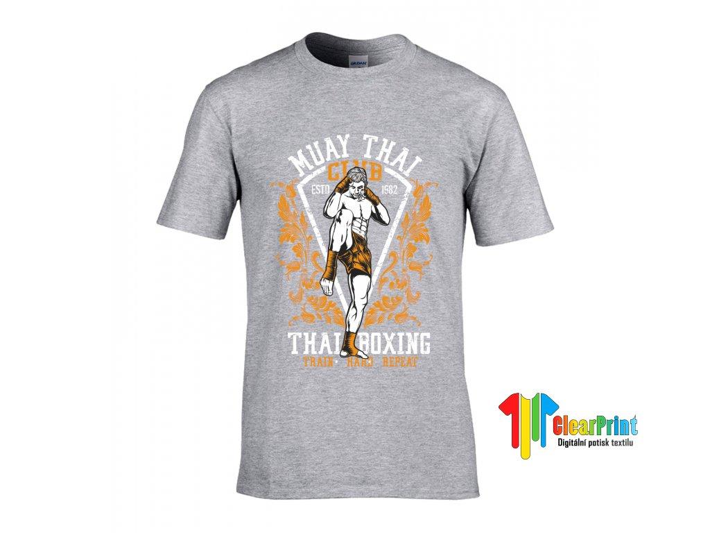 Thai Boxing Náhled grey