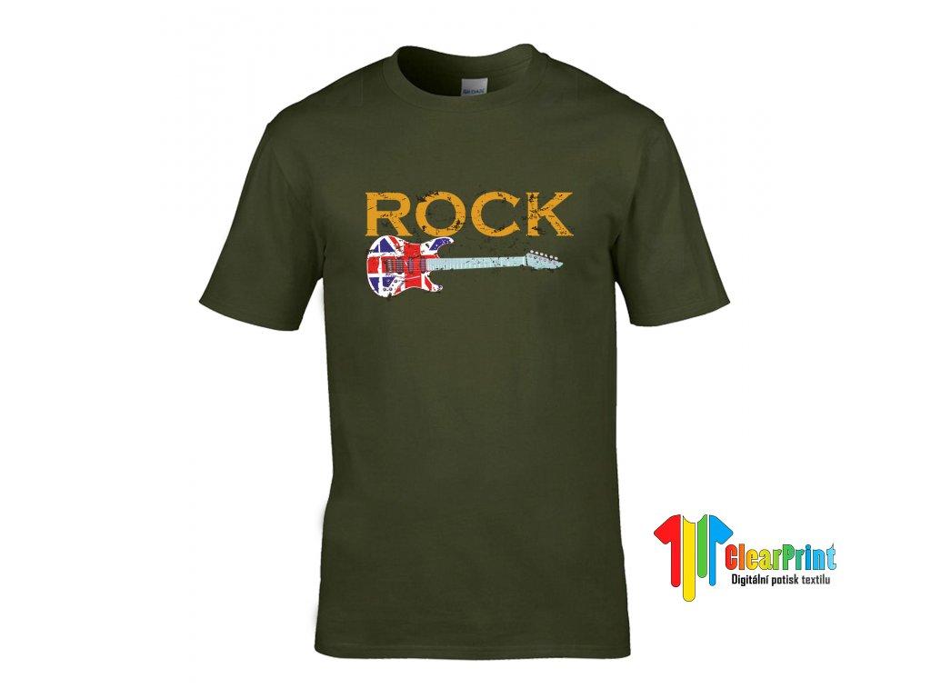 Rock Náhled khaki
