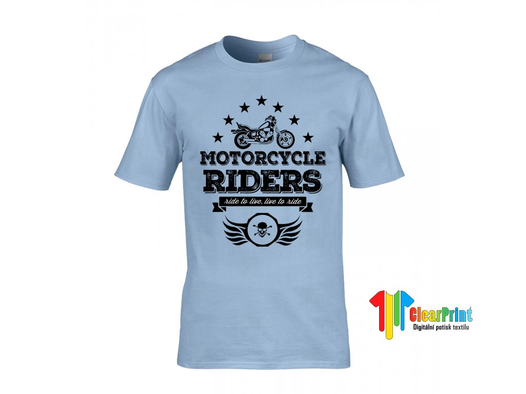Motorcycle Riders Náhled blue