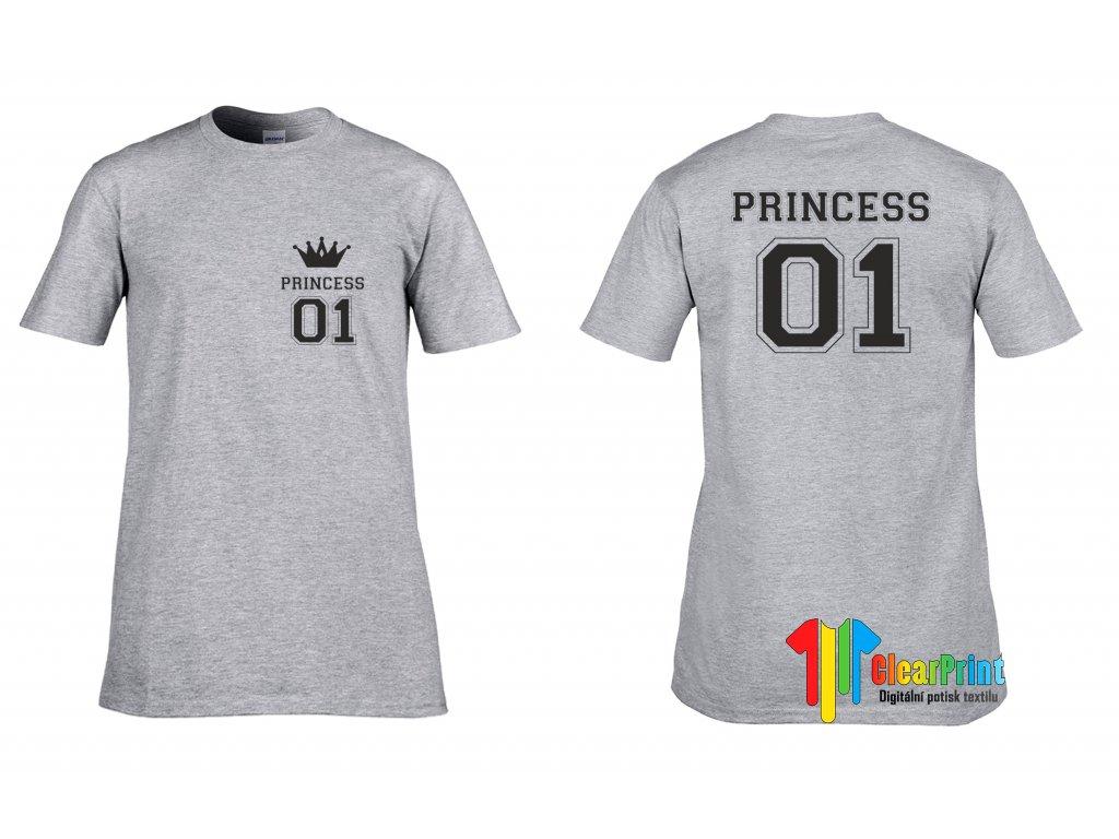 Tričko Princess 01 - ClearPrint cdb8e24977