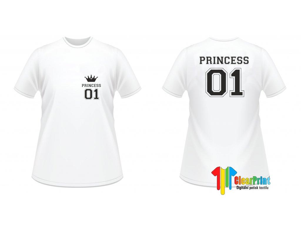 Princess 01 Náhled white