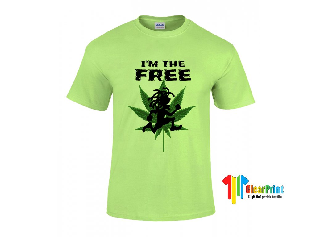 I'm The Free Náhled green
