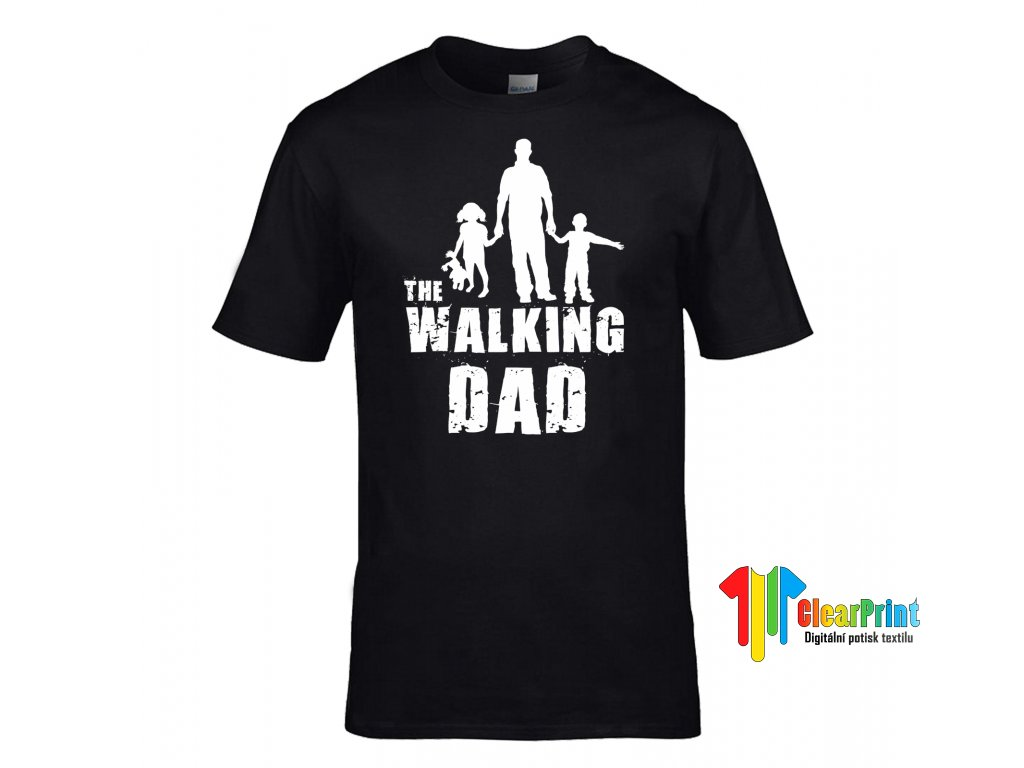The Walking Dad Náhled black