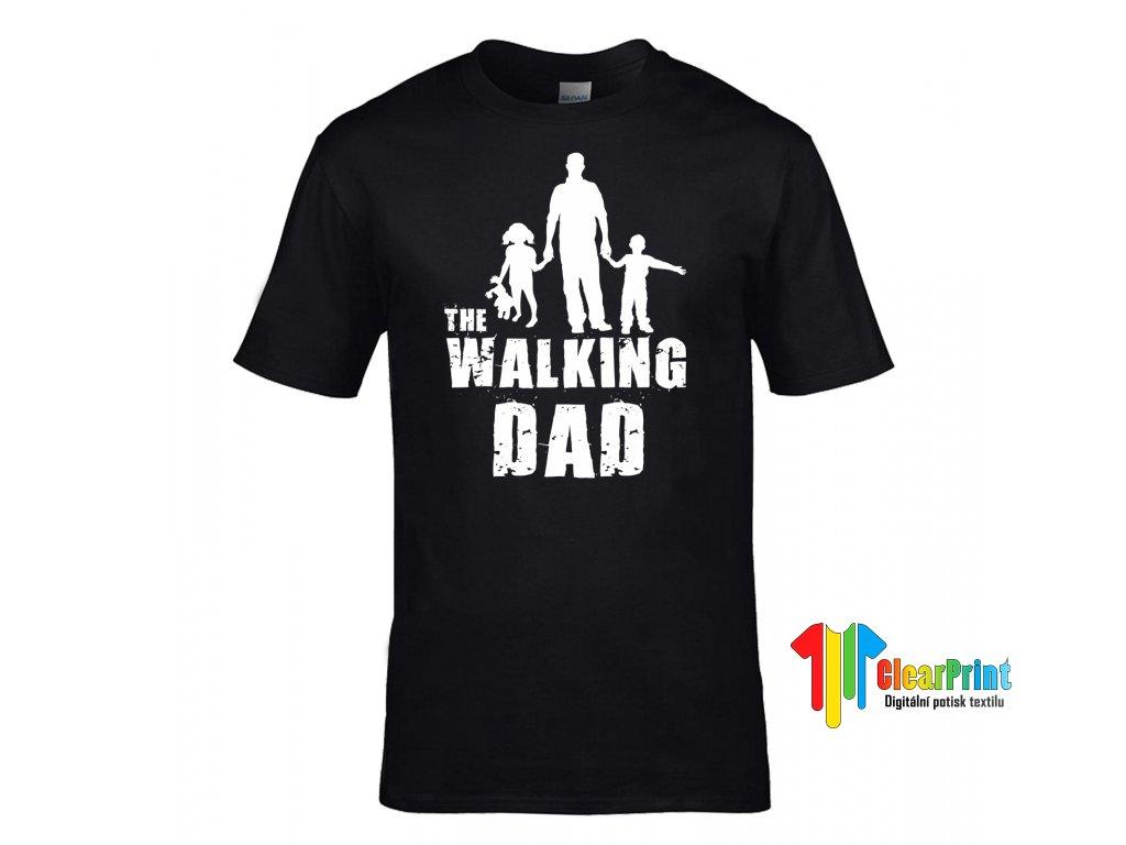 The Walking Dad Náhled black