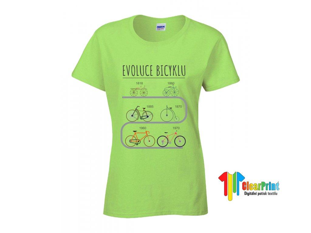 Evoluce bicyklu Náhled green d