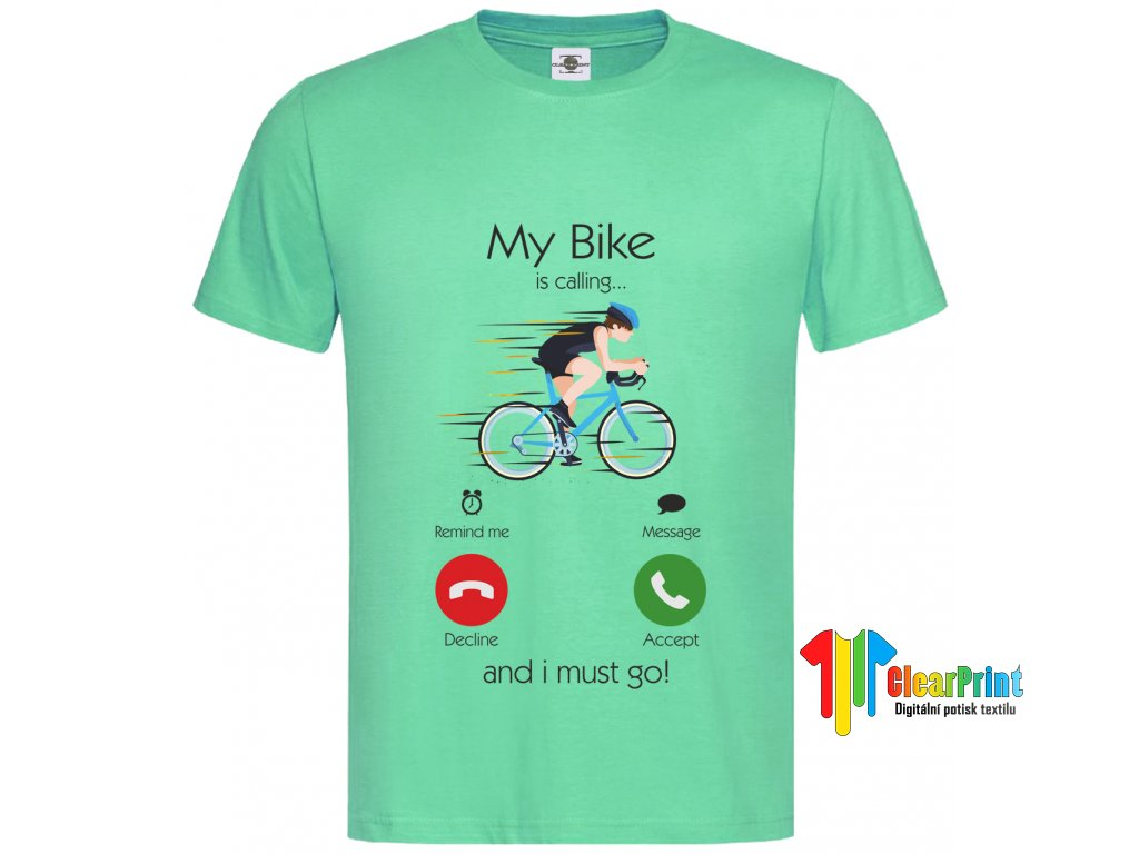 My bike is calling...Náhled navy